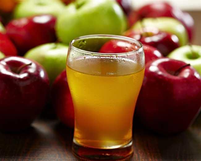 طريقة عمل عصير التفاح للرضع