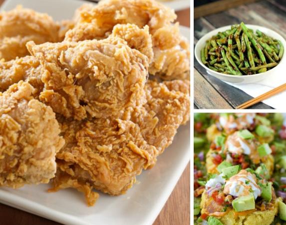 البحث عن وصفات للعشاء